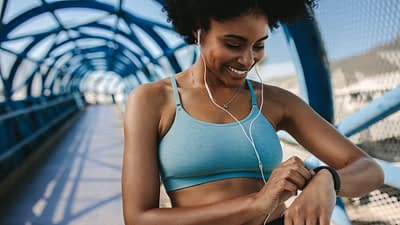 Fitbit has an affiliate program. Fitbit would be best for bloggers and social media influencers in the health and fitness space.