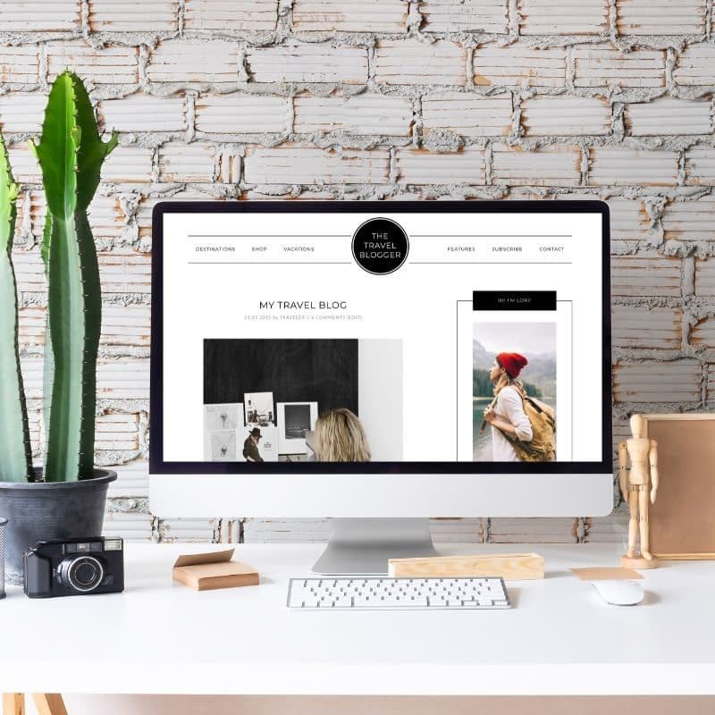 The Travel Blog System is a clean, magazine-style design for WordPress. This could be used for a beauty blog, travel blog, or food blog. It features an SEO friendly design, comprehensive home page, ecommerce component to build a store, testimonials, social sharing tools and more.