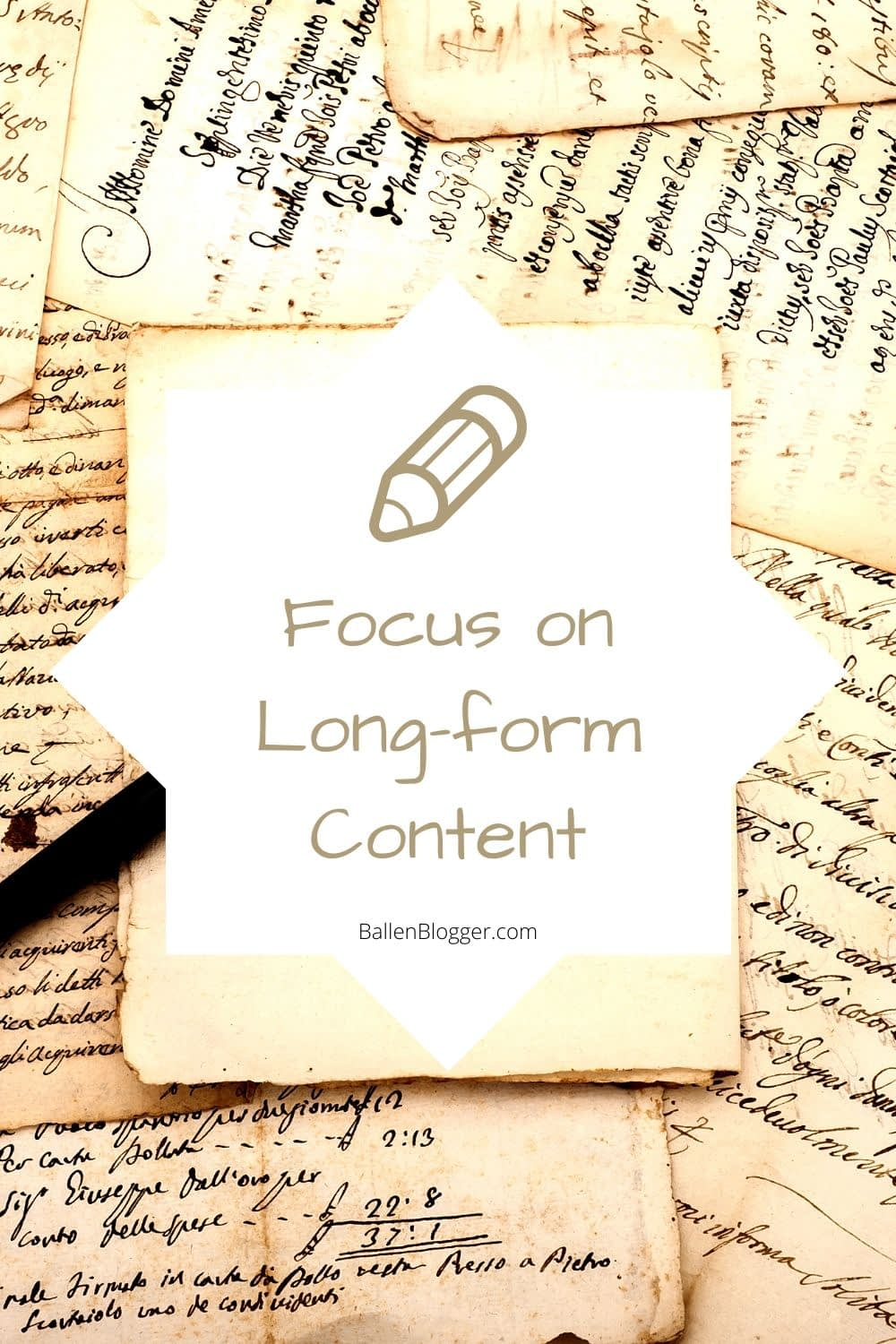 Creating long-form content can increase your website's dwell times. The more words a web page has, the longer it will take visitors to read.