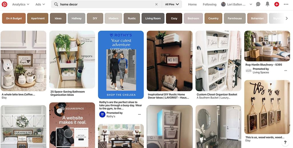 Many bloggers beginning with Pinterest get confused about when to start a new board. It's important to keep in mind that the more keyword focused the pin and board are, and match, the more likely they are to do well on the search engines.