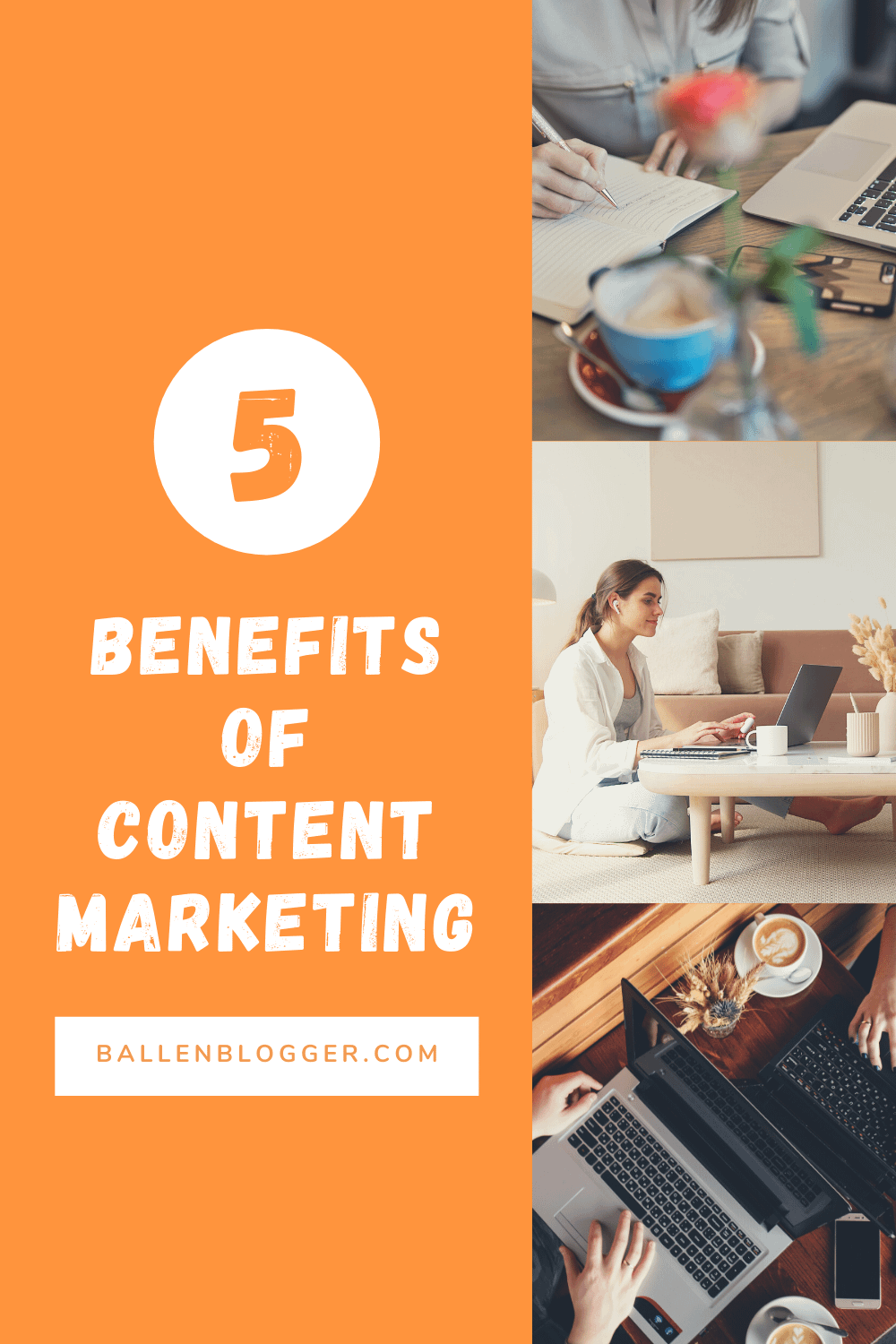 Content marketing is a long-term strategy that takes time to see results. But these benefits are worth it because they make your brand stronger and more attractive to customers.