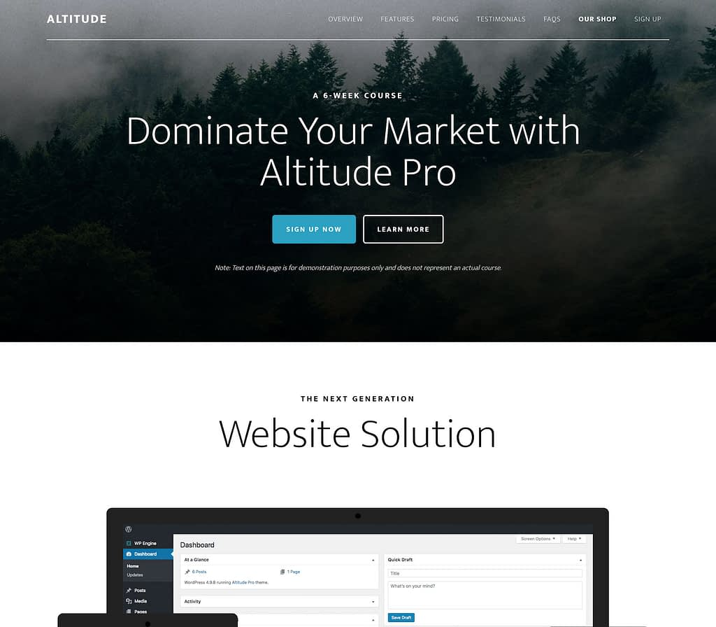 Altitude Pro Theme Package