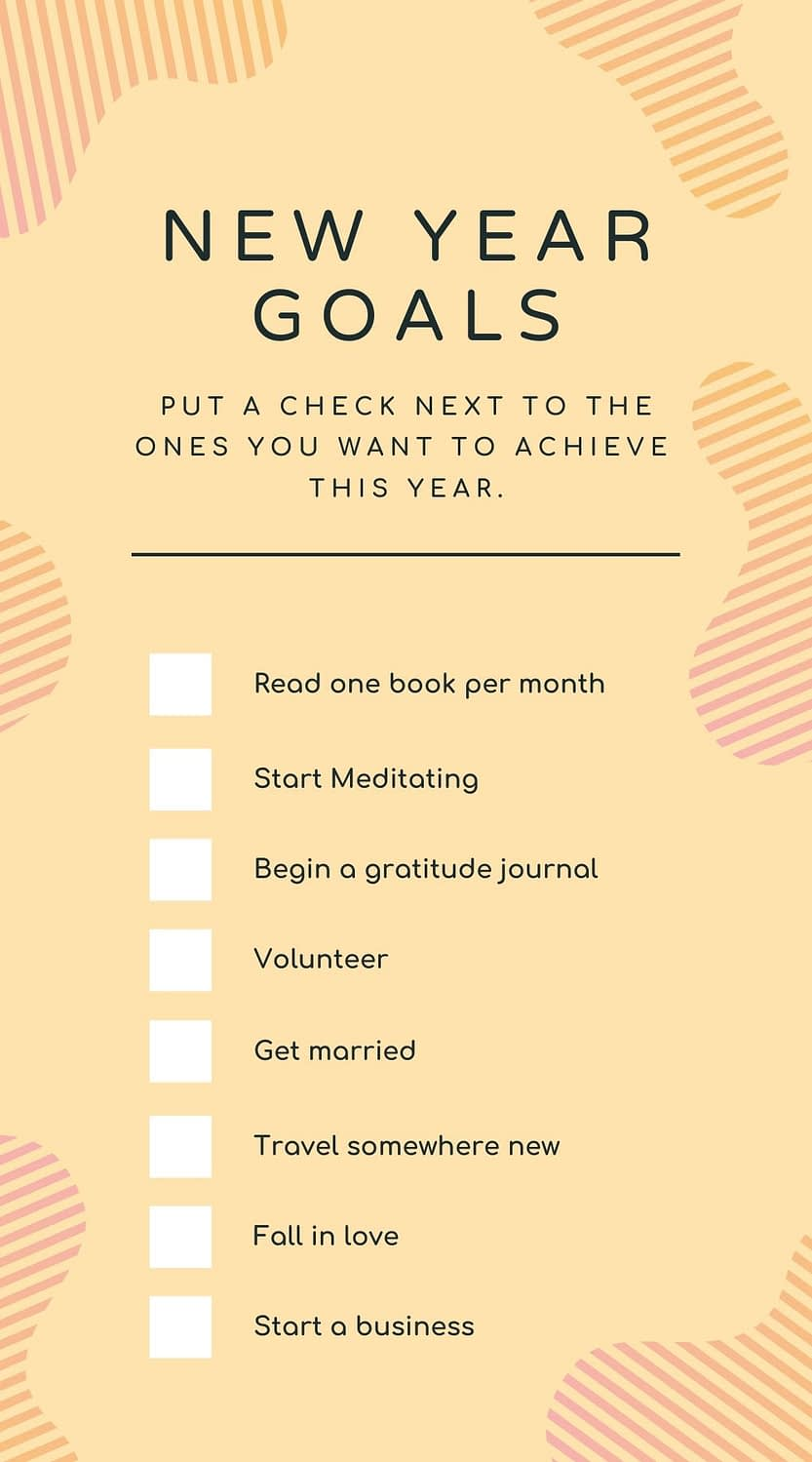 Canva is a great place to make creatives. I use Canva Pro so I can access pro images. Their library of checklist templates is fantastic.