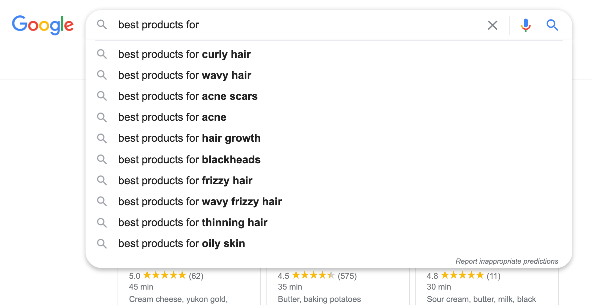 Keyword research can be used to find more topics. You can use Google auto suggest and type Best * for * to see a long list of recently searched keywords and phrases.