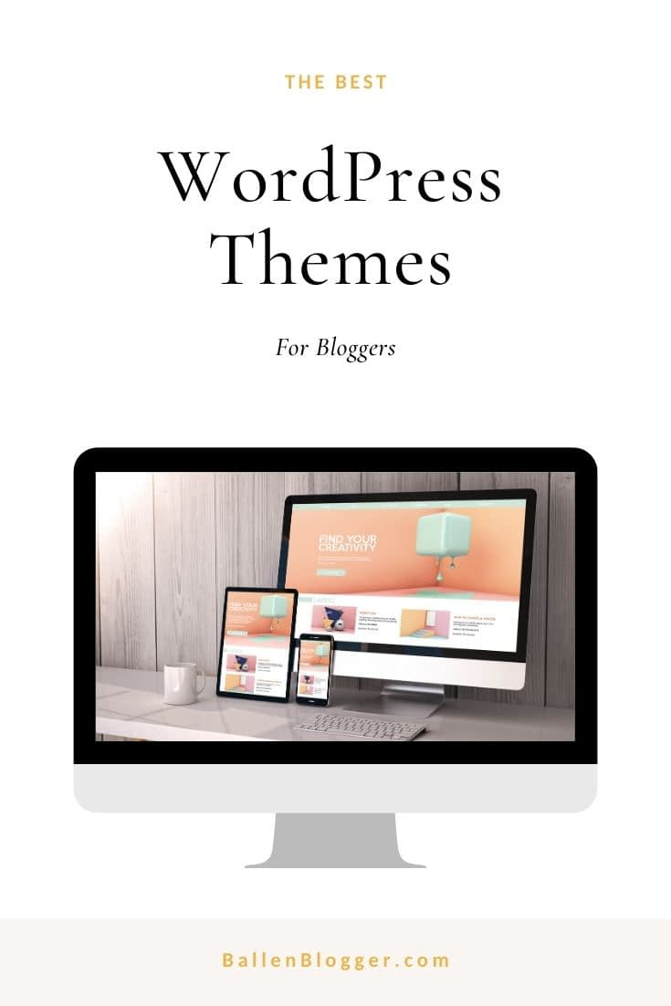 Find the best WordPress Themes, Mobile Responsive, Gutenberg Ready, Themes for bloggers, coaches, entrepreneurs, lifestyle bloggers and more.