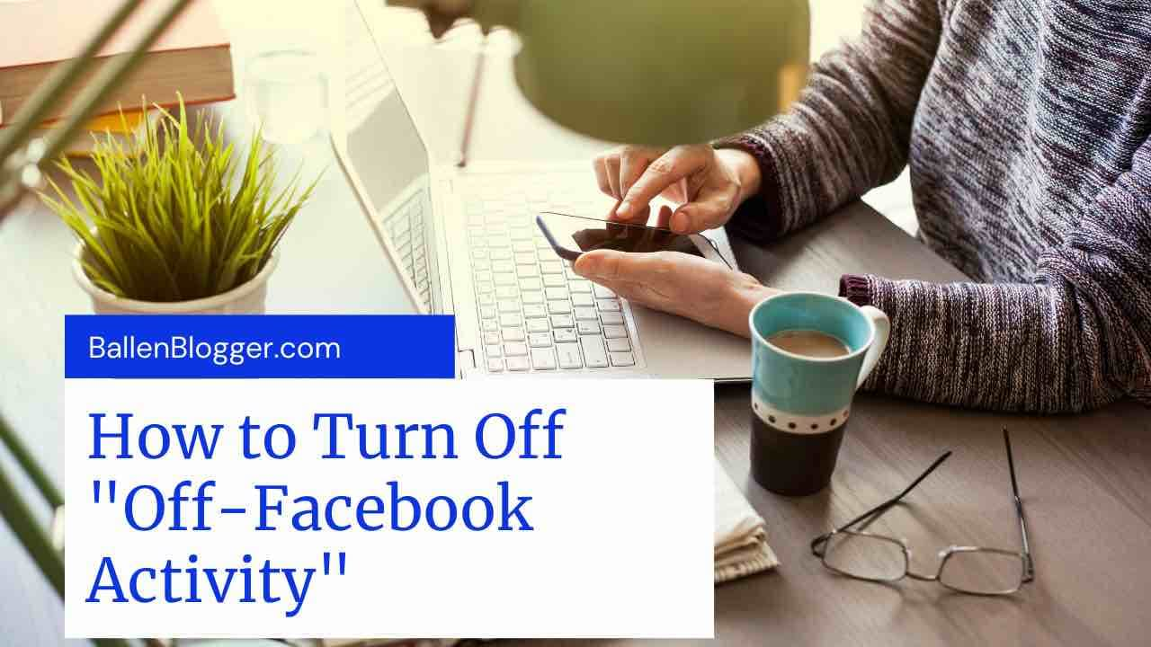 In this guide, I'll show you how to turn off your off-facebook activity to remove personalized history from websites you visit. This will also remove personalized ads, although not all ads.