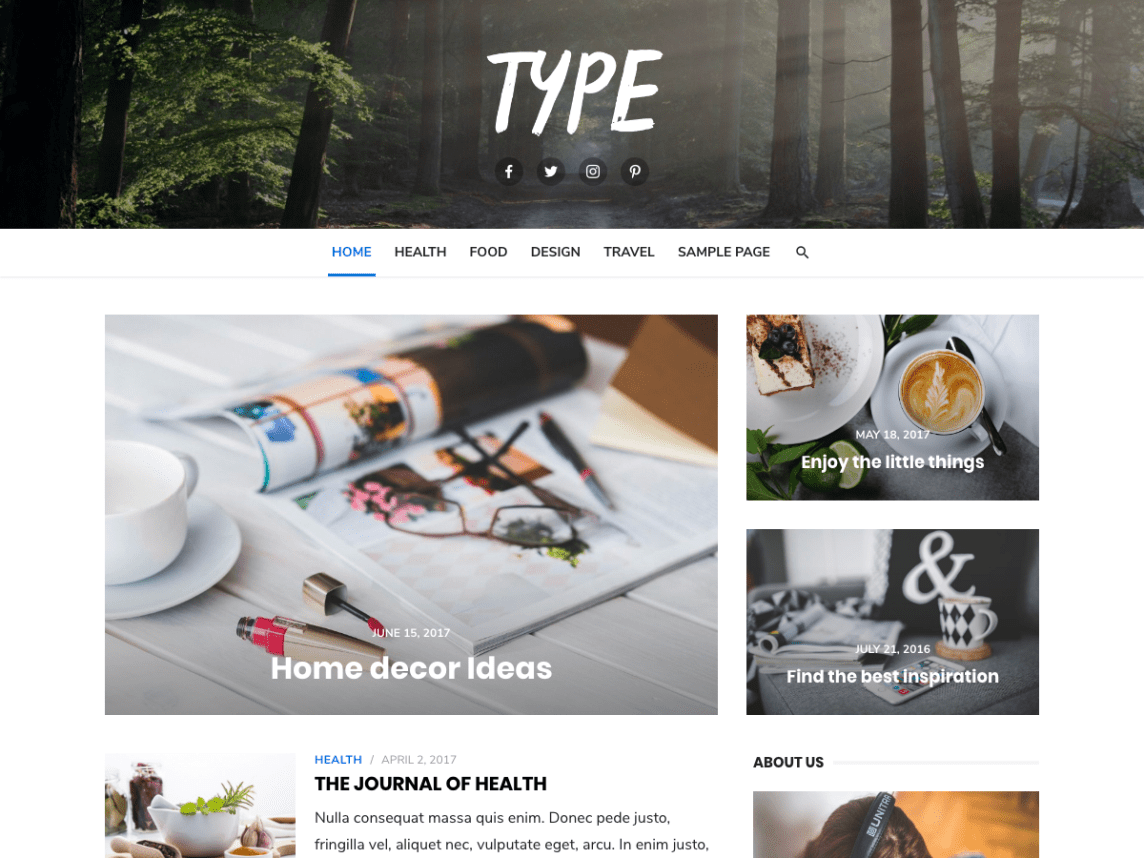 Given the theme's name, it should come as no surprise that it is one of the most popular free WordPress themes available.