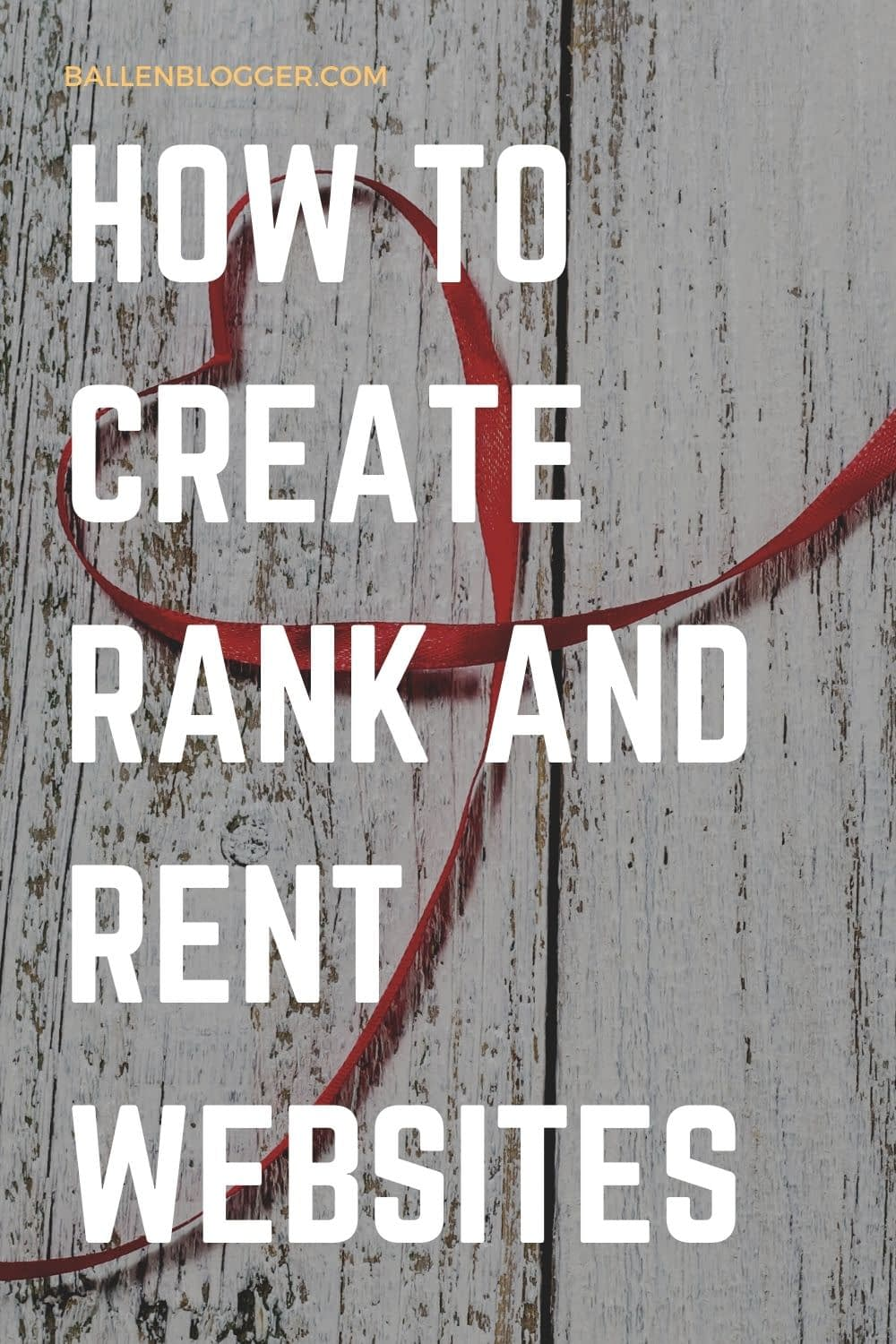 Rank and rent websites allow SEO professionals to make a steady income without regularly dealing with clients.