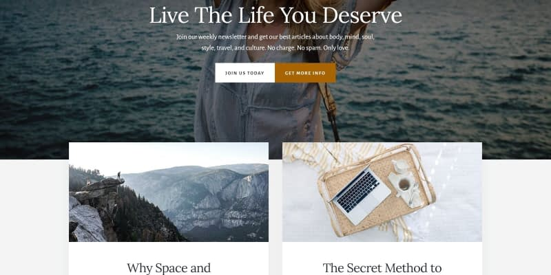 I love the Essence Pro Theme. It's a clean, minimalistic design that offers a beautiful wide theme option. Essence Pro is a child theme of the Genesis Framework for WordPress. This tutorial will show you how to install and set up the Essence Pro Theme.
