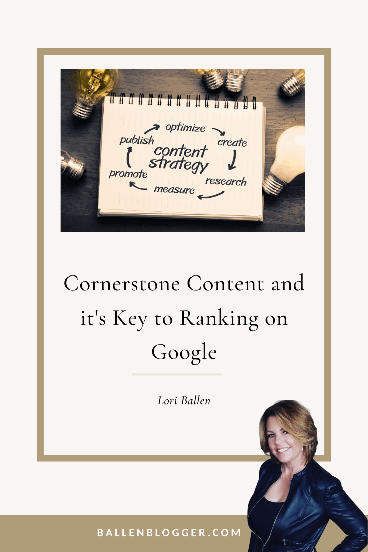 Out of all the other content on your website, this cornerstone content is what you want on the top pages of the search engine. Cornerstone articles often combine insights from multiple blog posts on your site.