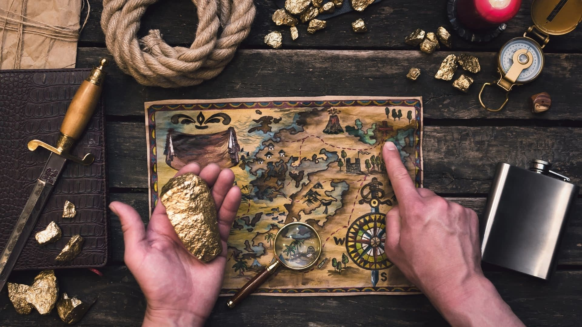 Treasure Mountain runs for about an hour, is intended for groups of between three and eight people, and is a lot of fun while providing plenty of problems to solve and challenges to overcome.