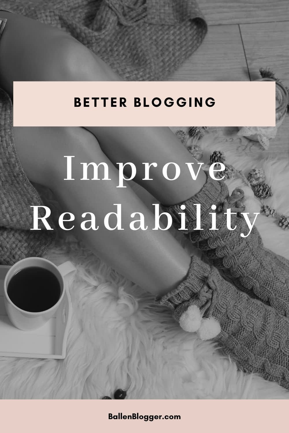 To improve the readability of your content, set the body font size to 16 pixels.