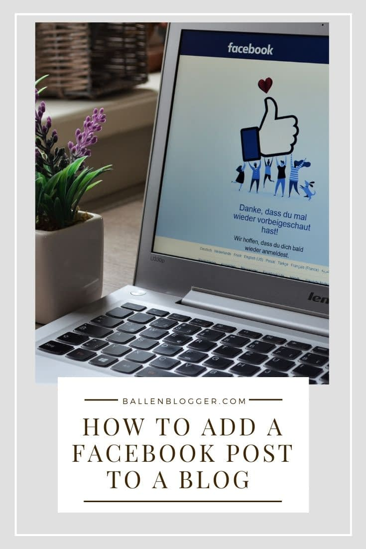 In this video and written tutorial, you'll learn how to embed a Facebook post on your blog. In this guide, we use the WordPress Gutenberg Editor although you can add a Facebook post to any blog where you have access to the HTML.