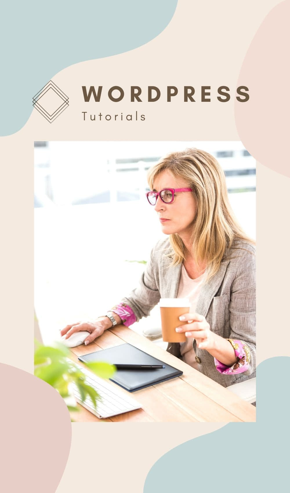 This WordPress tutorial list is designed to bring you just the right WordPress help you need when you need it. You'll find tutorials on setting up a WordPress Website, Adding a WordPress Theme, How to create a blog post on WordPress, WordPress SEO and so much more. Enjoy!