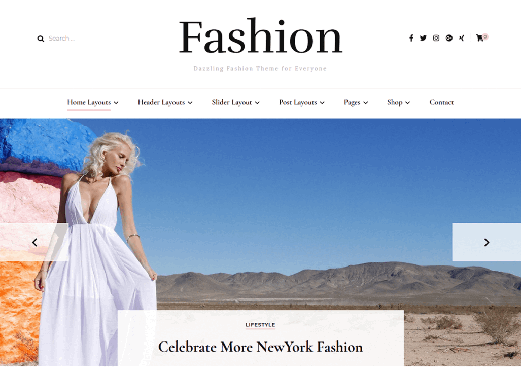 Blossom Fashion Pro is the premium version of the Blossom Fashion WordPress theme. It's Chic, feminine, and ideal for the fashion blogger.