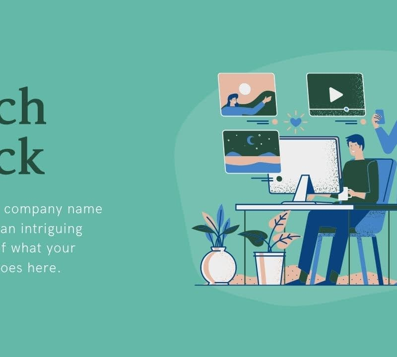 Match your perfect pitch with an outstanding pitch deck presentation created from professionally designed templates easily customizable, and free! Check out Canva for free pitch desk templates and examples.