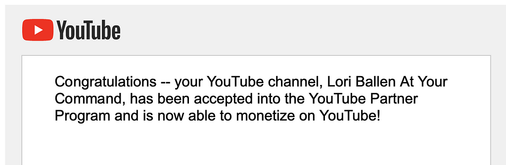I did it! I reached my goal of qualifying a 2nd Youtube Channel in less than 6 months. What's more, is that I was approved just 24 hours after applying for the Youtube Partner Program - During a Pandemic no less! Here's How I Did it.