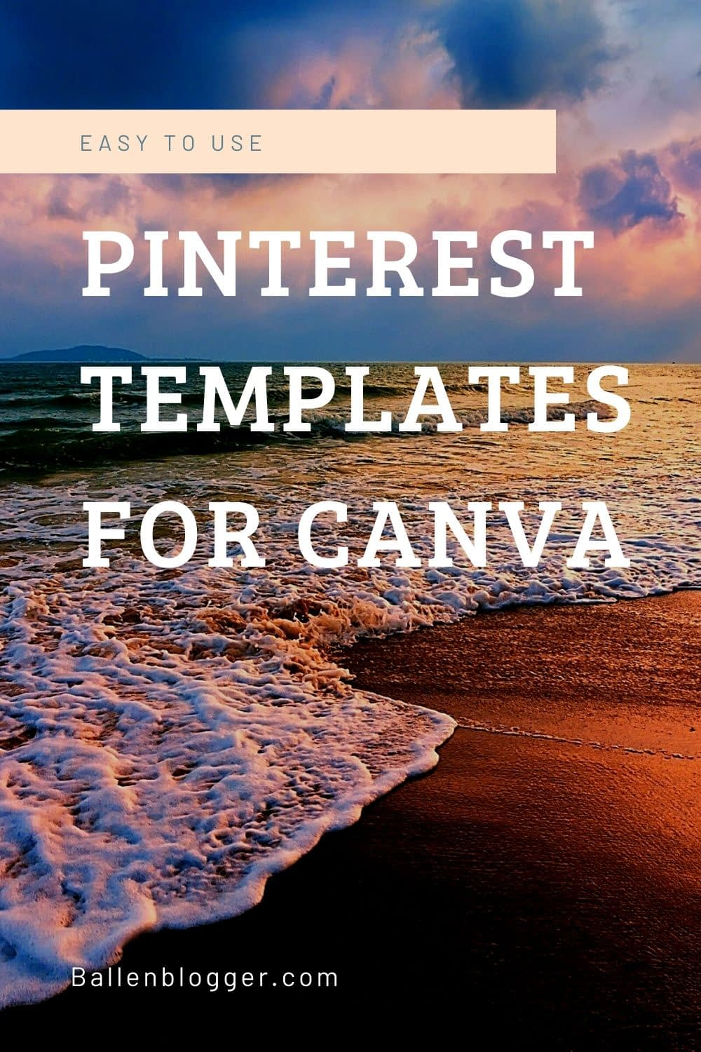 You don't need to be a designer nor does it have to take much time to create fresh designs. Check out Creative Market and Ladyboss Studio for amazing pinterest templates that work with canva.