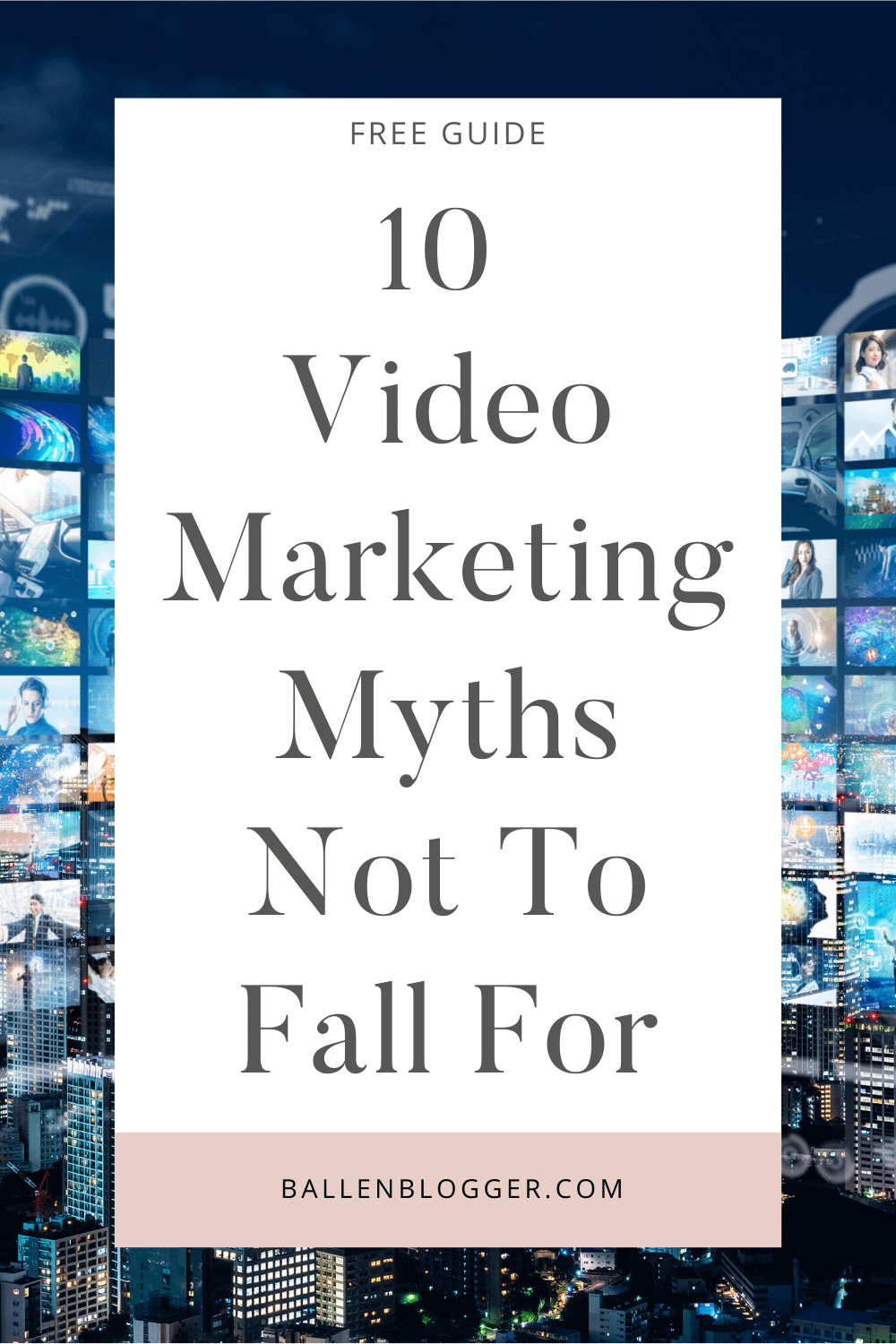 No matter what type of business you manage, you can promote it using high-quality videos. For an effective video marketing strategy, though, you shouldn't fall for the following ten common video marketing myths.