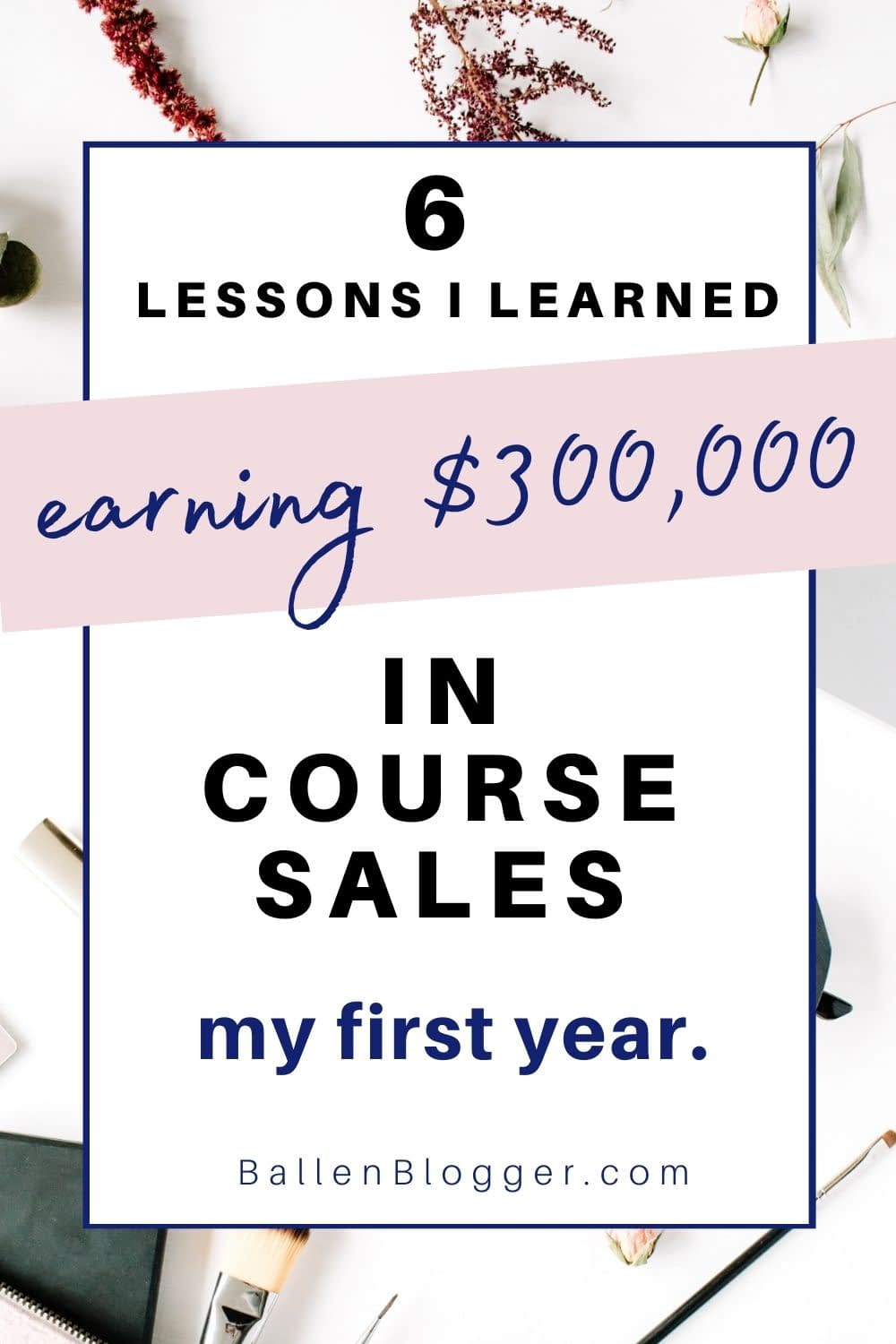 I never set out to create and sell courses. It happened organically. As the online courses began to grow, I was thrilled to hit the $300,000 in sales number my first year. In this article, I'll share my personal experiences, what worked for me (and didn't), and what I learned on the journey.