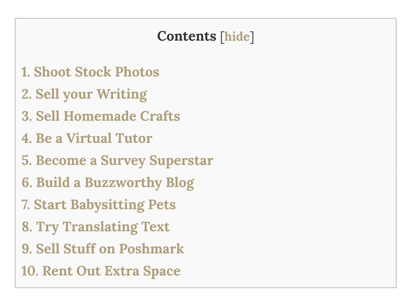 There are many available WordPress Plugins for setting up a table of contents. To add a Plugin, find the Plugins link on the left. Once you open that, choose 'Add New'. Next, add a keyword to the search box.