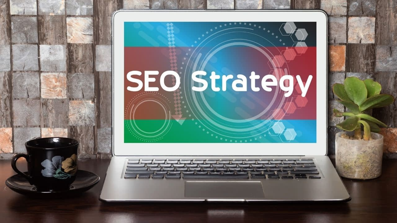 A search engine strategy focuses on the areas of on-page SEO, off-page SEO, and technical SEO. It's an outline of how you plan to build out your website and your content in a particular order and schedule for maximum results.