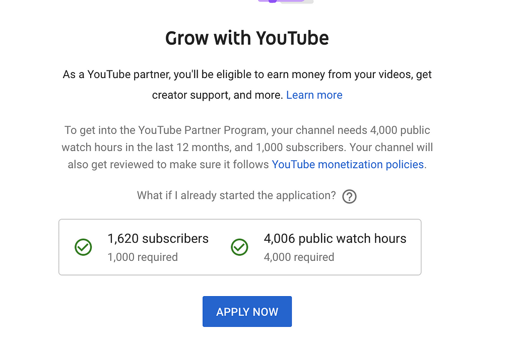 While I can't predict how long it will take someone to qualify to become a Youtube Partner, I can share how I qualified in just 5 months.