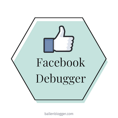 Another Ballen Blogger Tutorial! Facebook Debug: How To Get An Updated Blog Image To Share Correctly on Facebook Consider Social Snap for your blog. You can install social tools that allow you to set a Pinterest image, social share image, featured blog image and video for each blog post.