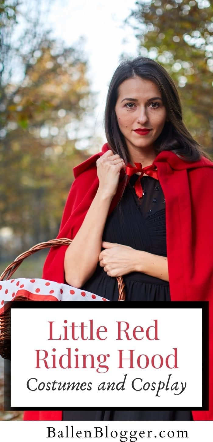 Enjoy these Little Red Riding Hood Costumes and Cosplay.