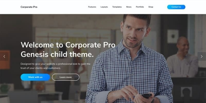 Corporate Pro is a smart investment for businesses wanting to make a lasting impression. Corporate Pro has raised the bar for Genesis child themes with its smart new features such as the One Click Demo Import, AMP support, and more.