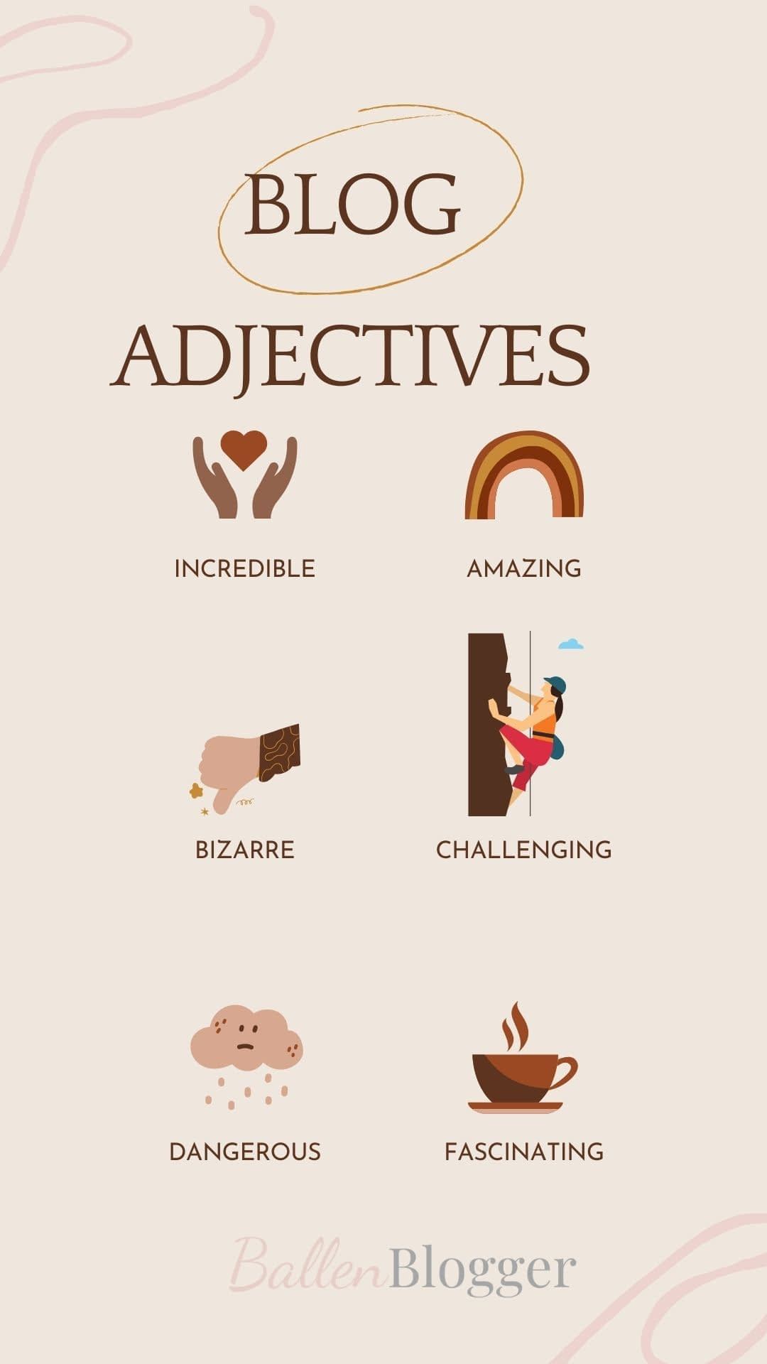 Econsultancy shared their favorite adjectives to use in a blog headline to invoke emotion.