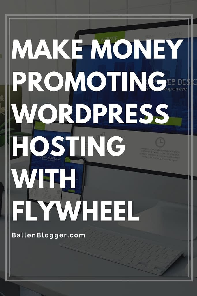 """Flywheel has an affiliate program. They call it their referral program. As a """"friend of flywheel', or approved affiliate, you can earn up to $500 per referral for referring a new customer to the WordPress hosting company."""
