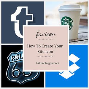 Your Favicon or site icon is the small logo that appears in a tab on your web browser. you'll often see it on mobile devices and site icons are now appearing on Google's search engine results pages (SERP). They should be colorful, and easy to identify when small. Here's how to create your site icon in just a few easy steps.
