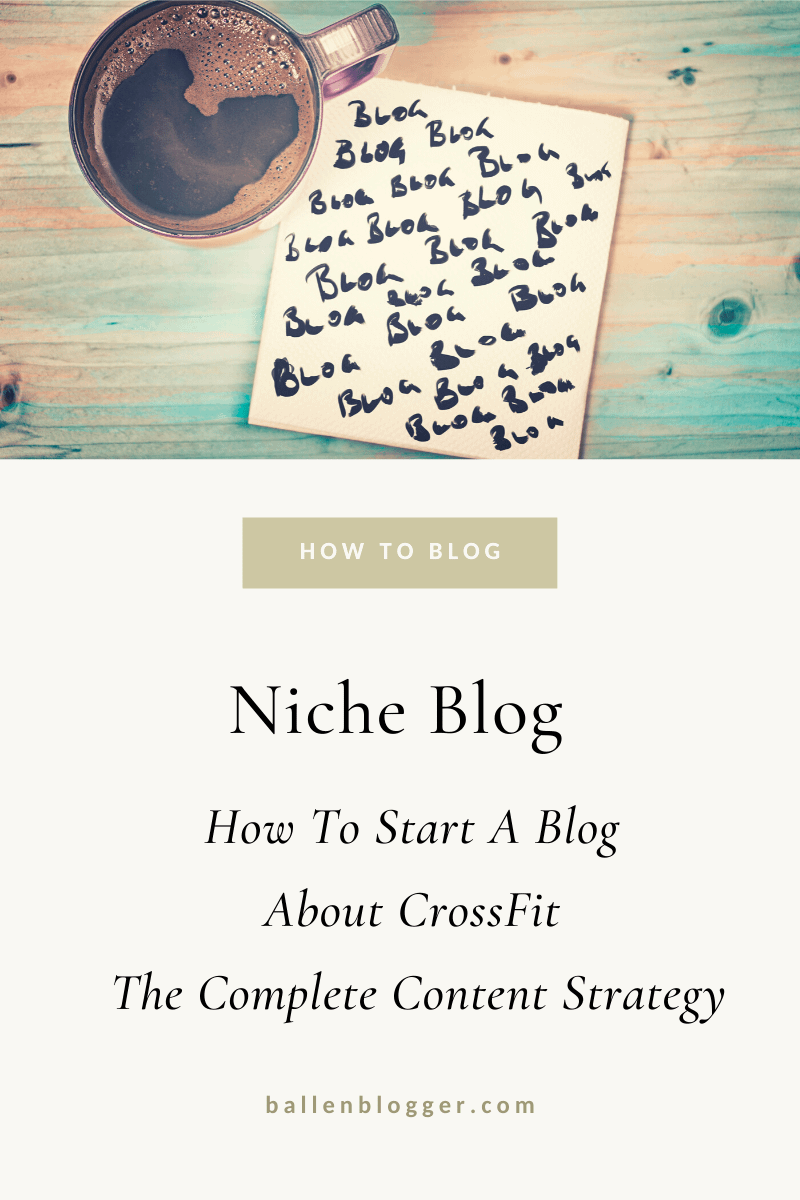 One of my coaching clients asked me to break down a content strategy for someone wanting to start a blog, youtube channel and or Pinterest account about Crossfit. Upon looking at all 3 individually and collectively, I say - Do All 3!