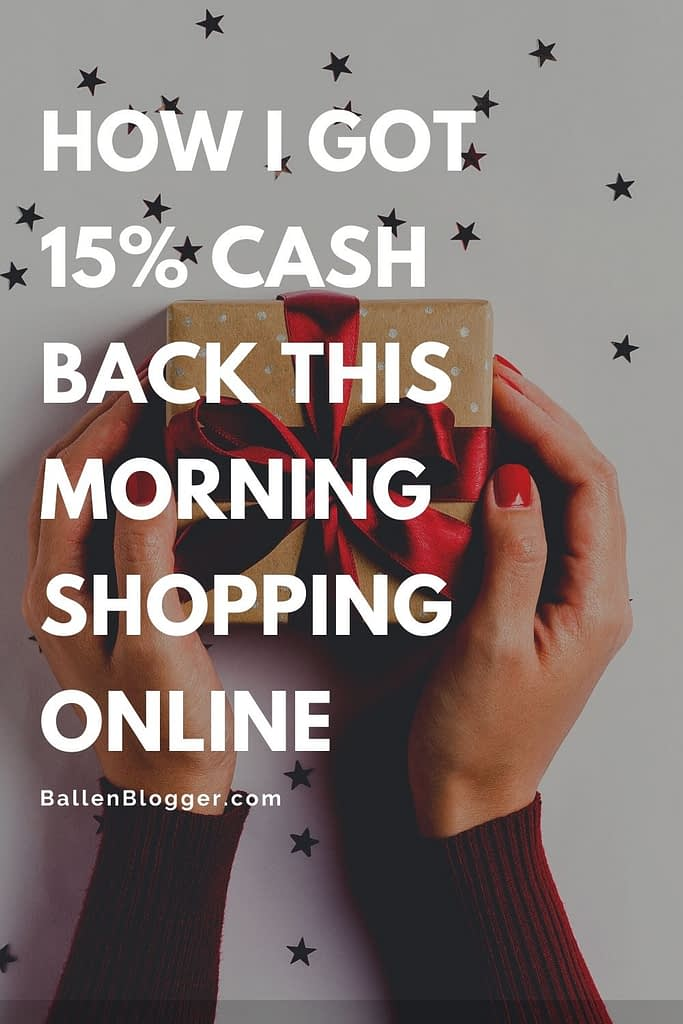 Cashback apps like Rakuten offer cash back when you shop online. These cash-back apps also store coupon codes and apply them for you before you check out. Rakuten is a free chrome extension.
