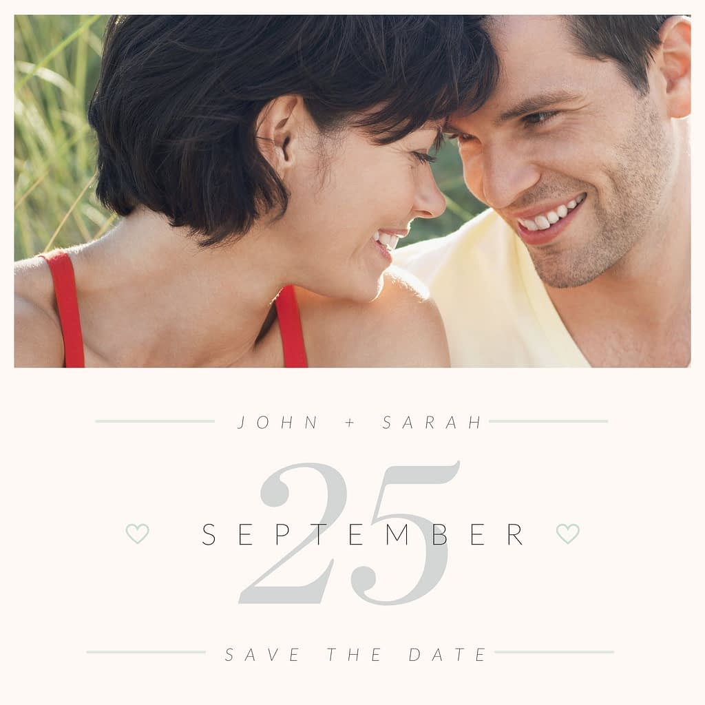 Canva Pro offers design elements such as wedding templates.