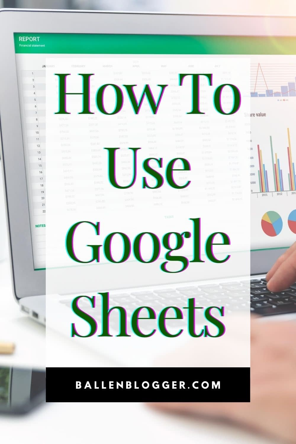 I love Google sheets. It's so much more than just a spreadsheet maker. Once you learn how to use Google Sheets, which is a free tool, you'll find yourself more organized than ever!