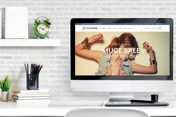 Flatsome is the top-selling and top-recommended WooCommerce WordPress theme as of January 2021 and is one of the fastest eCommerce themes.