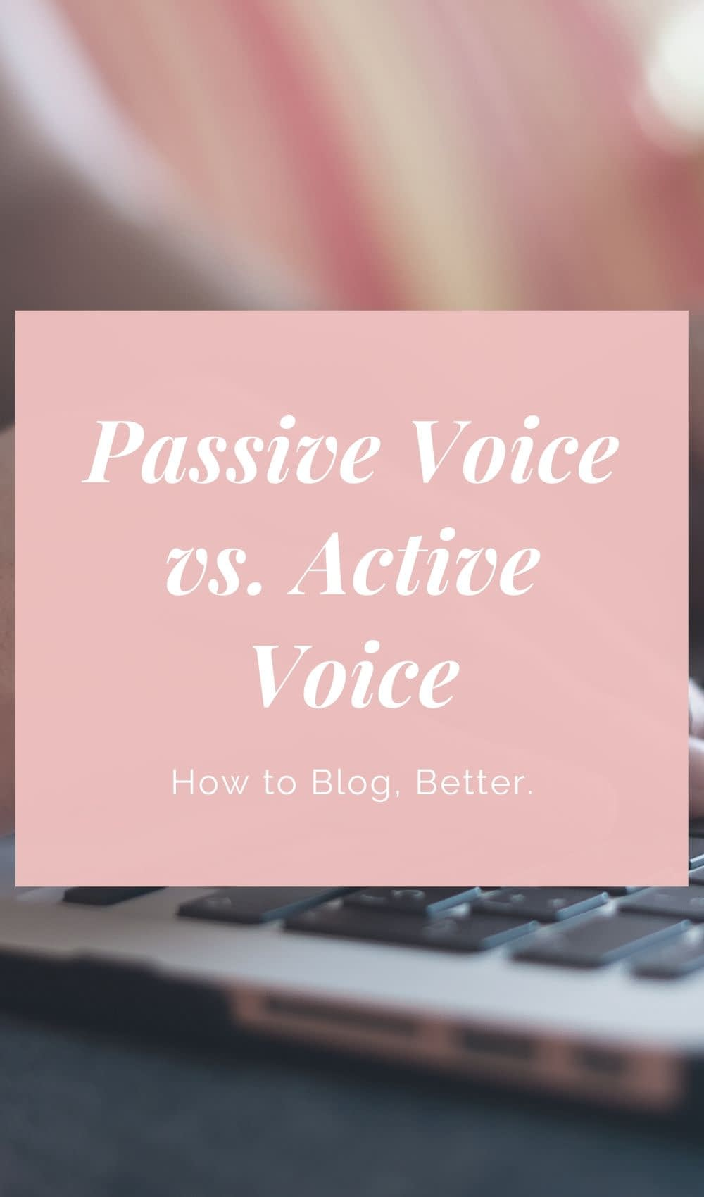 Are you guilty of using passive voice when writing articles, blog posts or other text content for your website? While high-quality content can lead to more traffic and higher search results, you should be conscious of your writing style.