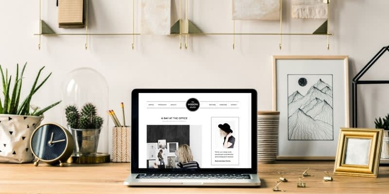 Hi! I'm Lori Ballen, a professional blogger. I love WordPress. In this video, you'll learn how to set up the Modern Studio Pro Theme. This design is clean, simple, and looks gorgeous on mobile. It can be used for a store, lifestyle blog, travel blog, or anything else you like.