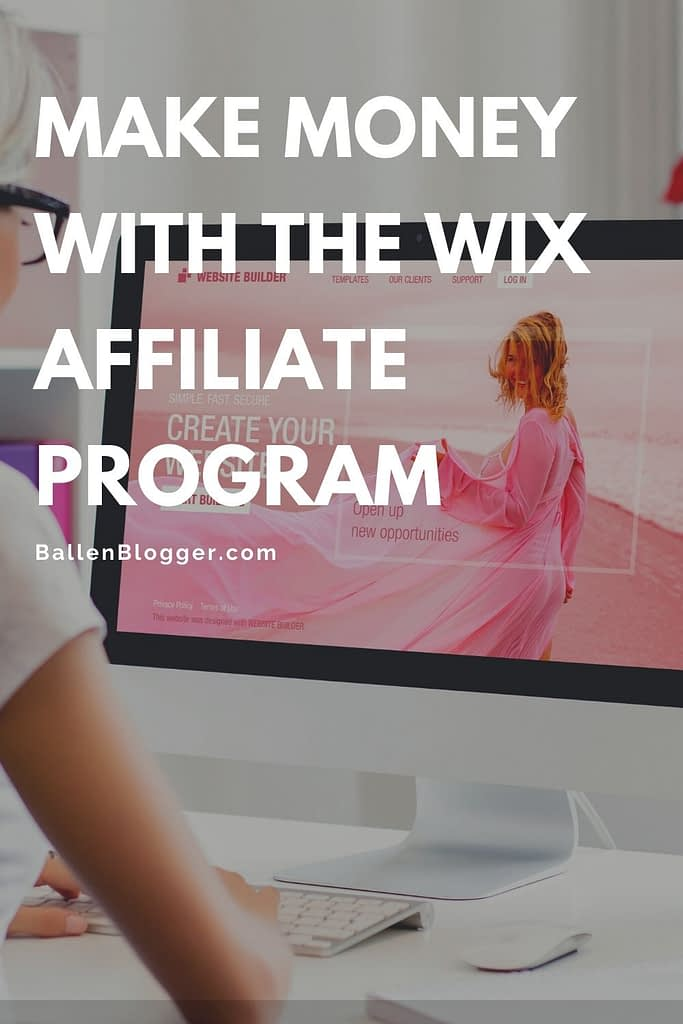 Make Money with the wix affiliate program