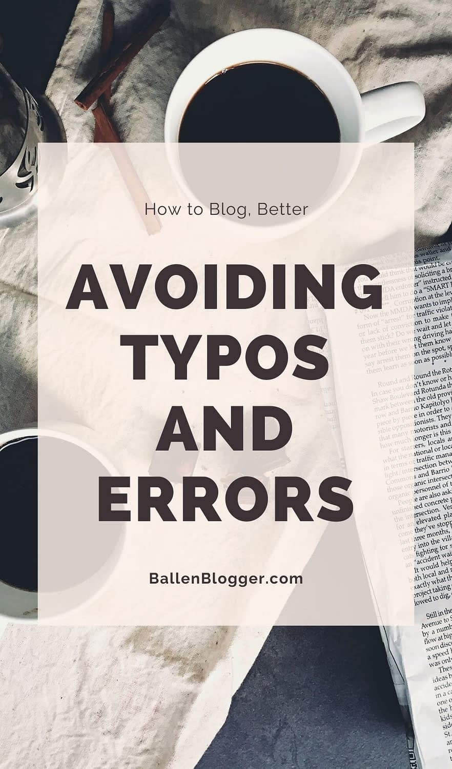 Whether you're writing an article, a blog post, a product description or any other type of digital content, you should use caution to ensure it's free of typos and errors before publishing it on your website.