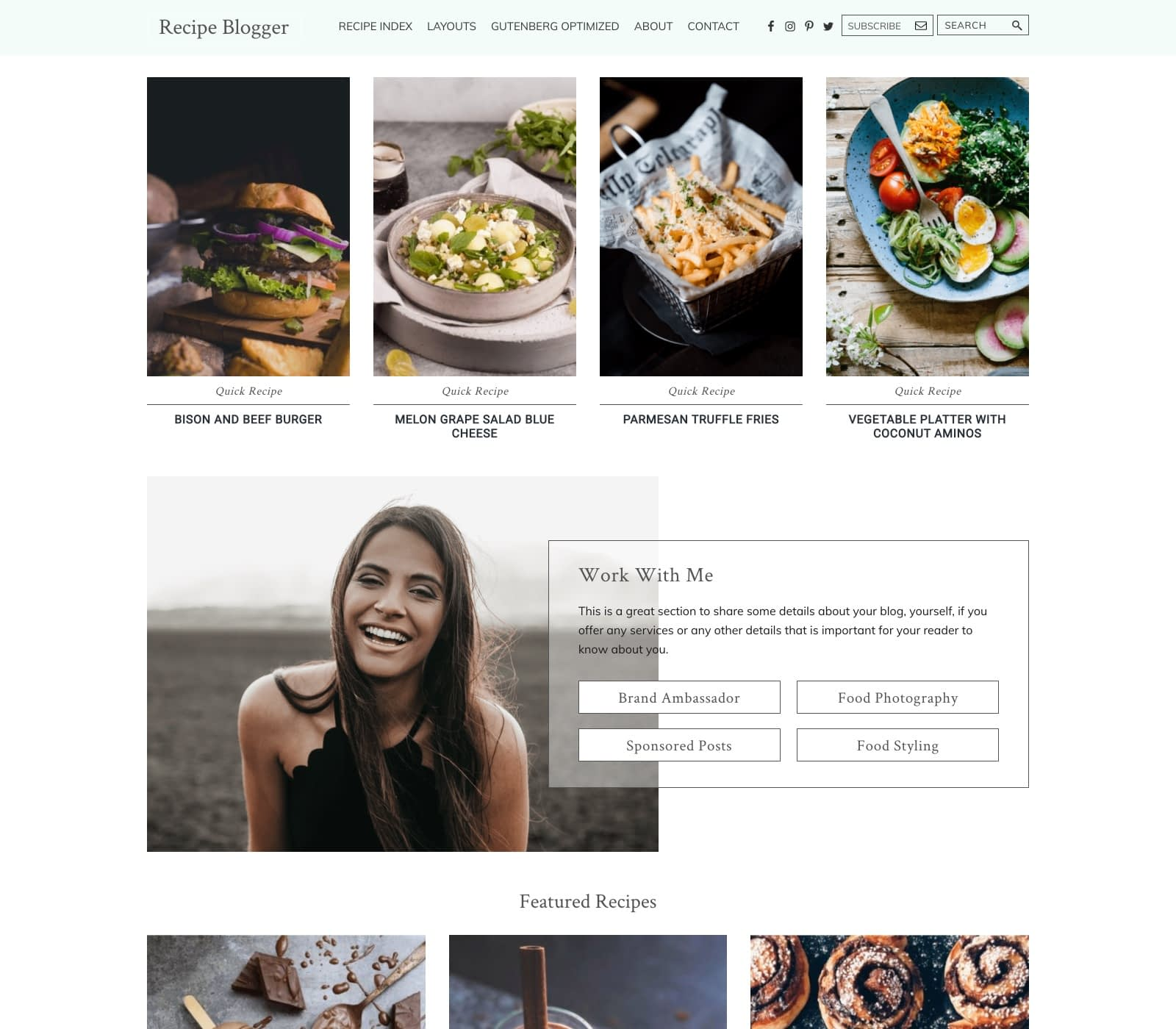 If your food blog is looking a bit tired or outdated, you may be in the market for a new design. <a class=